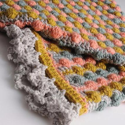 Rock A Bye Baby Blanket Crochet Pattern Tangled Yarn Uk