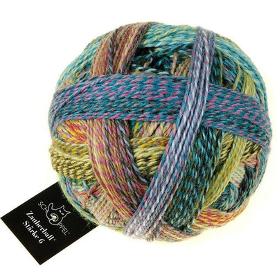 Schoppel-Wolle Zauberball Stärke 6 - Garden Party (2355) - Sport Weight Yarn