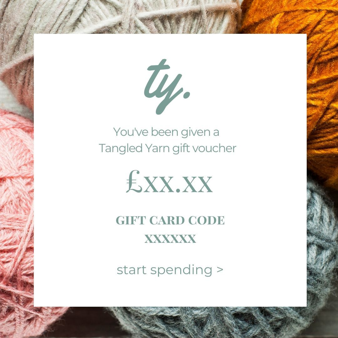 Tangled Yarn Gift Card -  - Gift Card