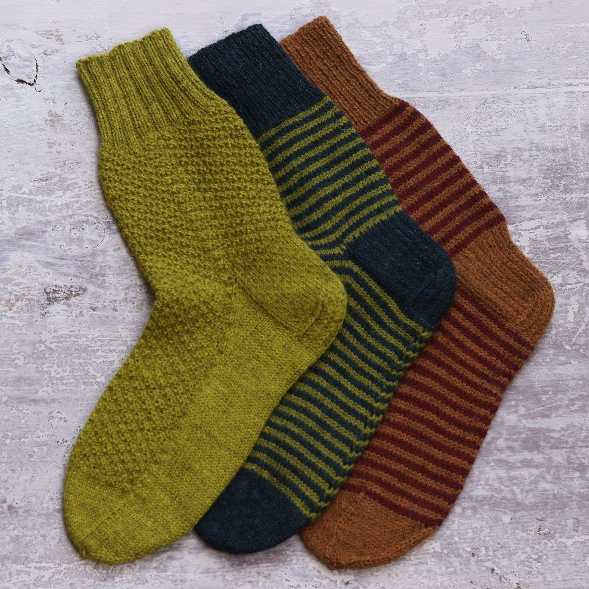 The Fibre Co. One Sock [Printed Version] -  - Knitting Pattern