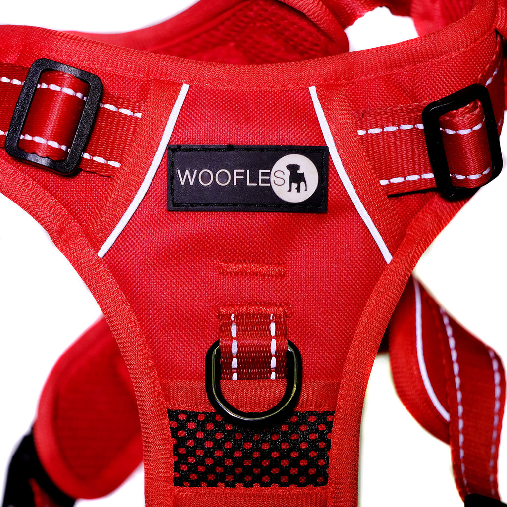 Woofles Endurance Harness - Red