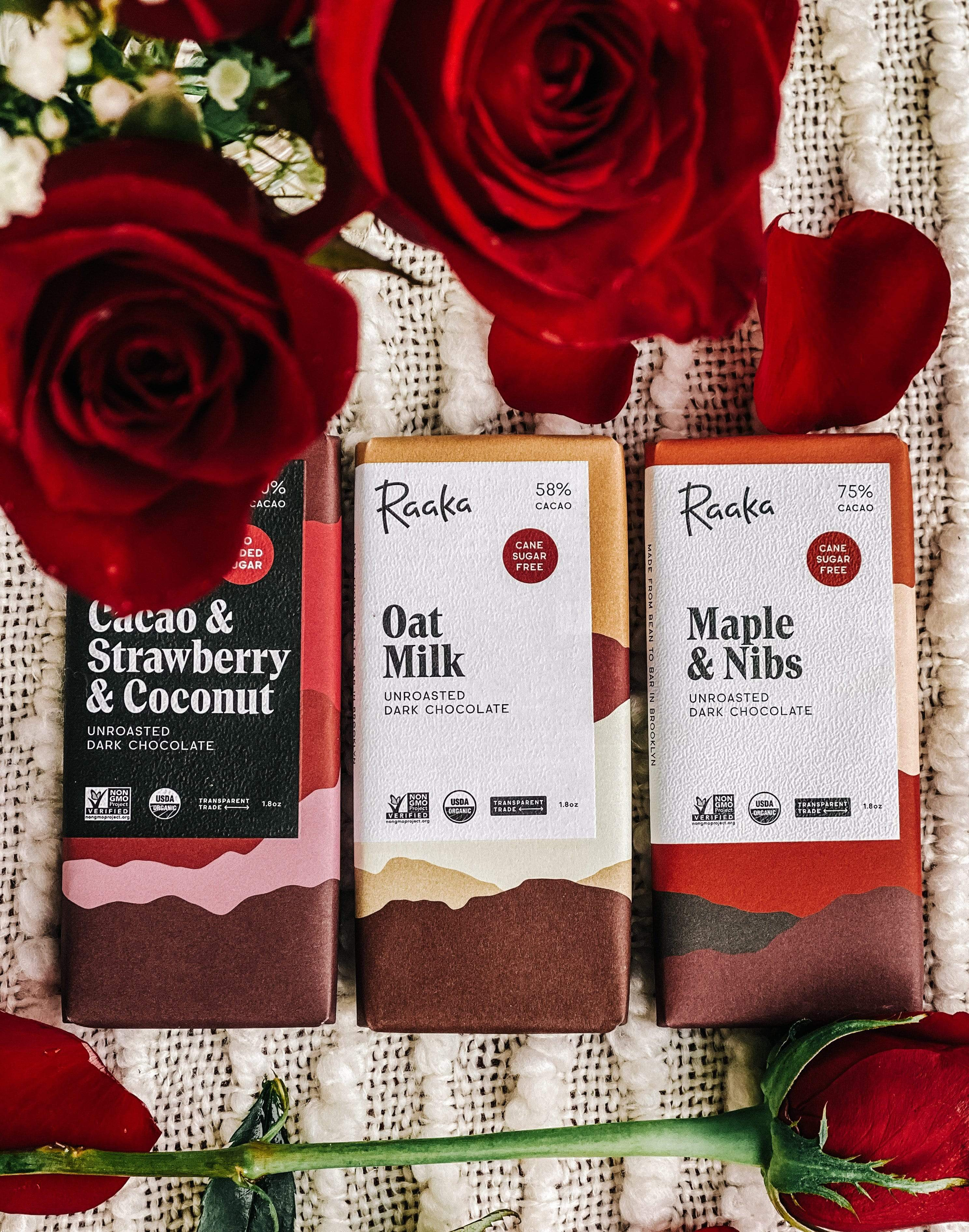 Raaka Chocolate (Refined Sugar Free 3pk)
