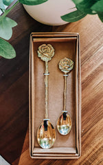 Rose Spoon Set
