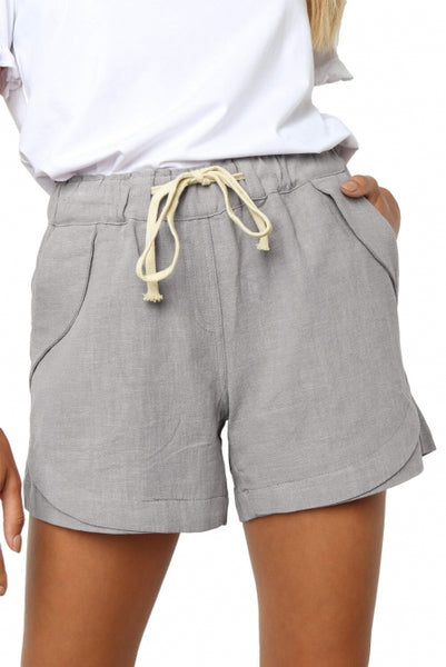 Gray Faylin Shorts