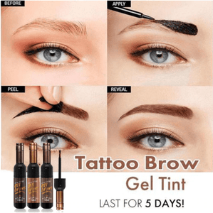 Peel Off Eye Brow Tattoo 11.11