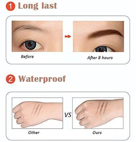 Waterproof Microblade Eyebrow Pen (Bundle Pack & Free Shipping)