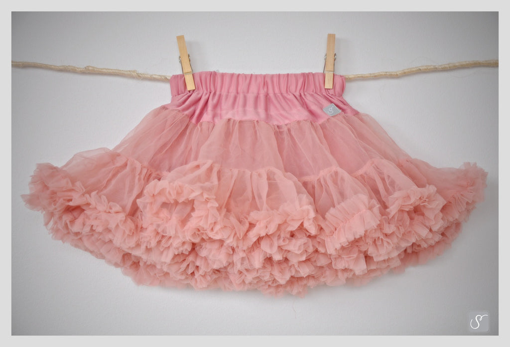 Tea rose pink Adult size