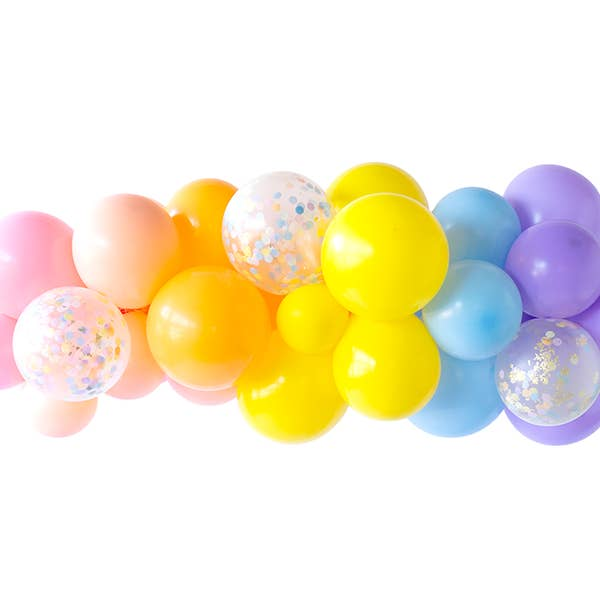Peace & Love Balloon Garland
