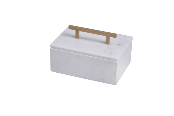 Small Marble Jewelry Box