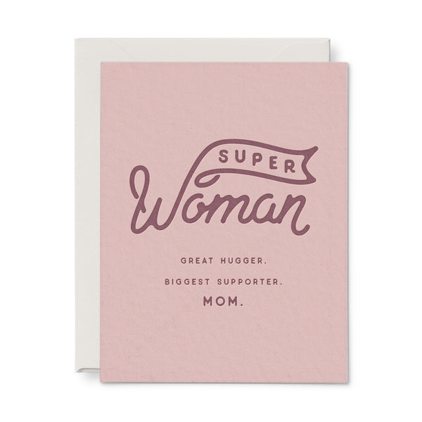 Superwoman Mother's Day Card