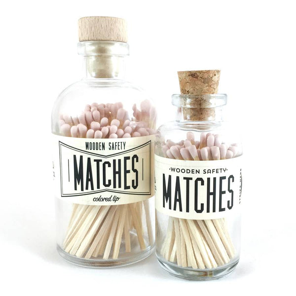 Light Pink Vintage Matches
