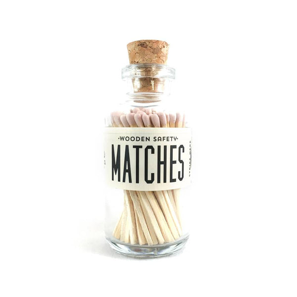 Light Pink Mini Matches