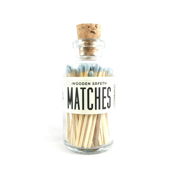 Powder Blue Mini Matches