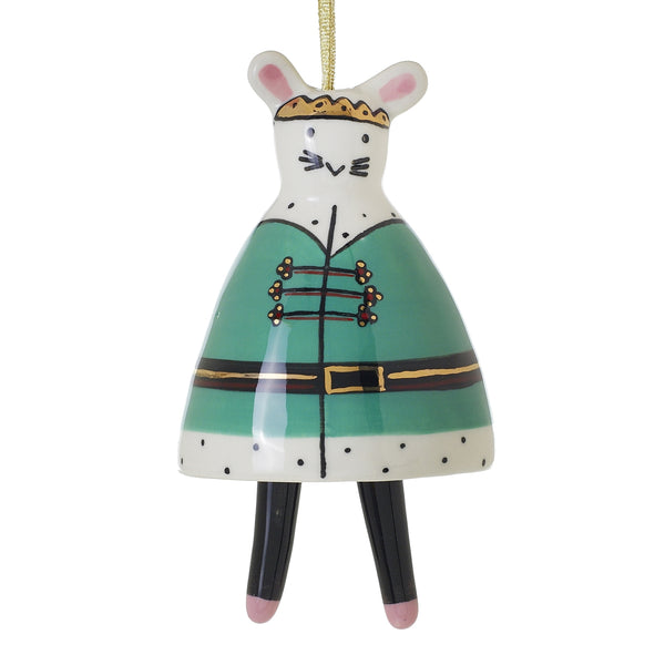 Ballet Mouse Ornament