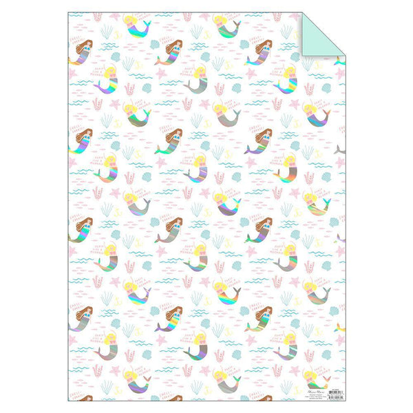 Mermaid Roll Sheet Wrap