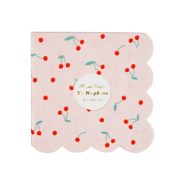 Cherry Small Napkins