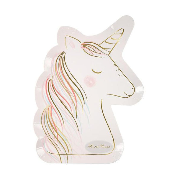 Unicorn Shaped Plates