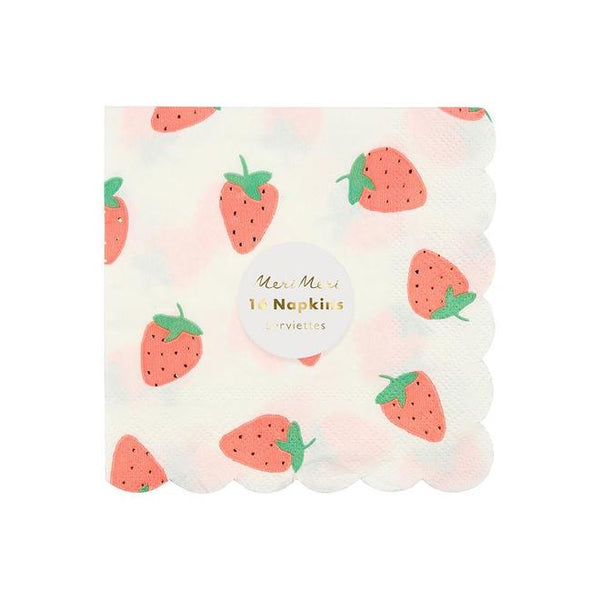 Strawberry Small Napkins