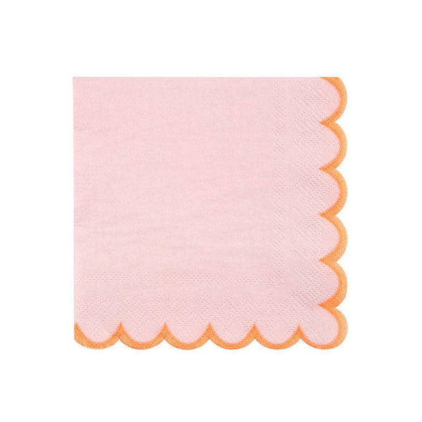 Pink Pastel Napkins Small