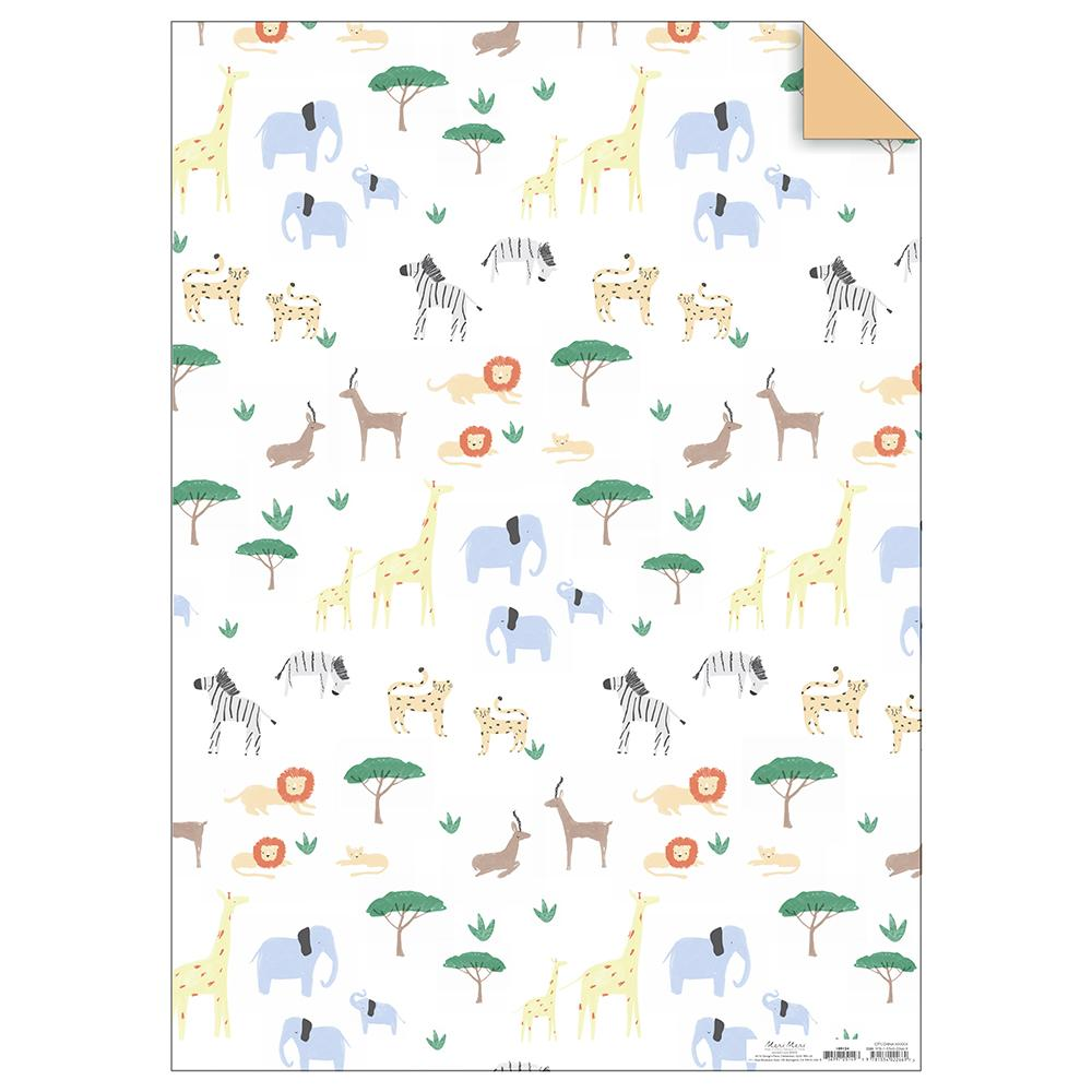 Safari Gift Wrap Roll