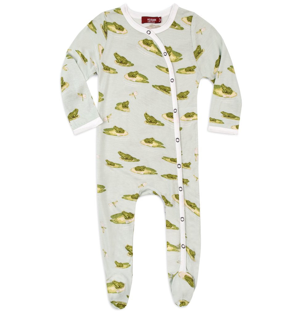 Leapfrog Footed Romper