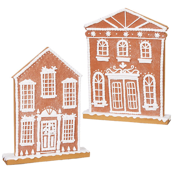 Flat Gingerbread House