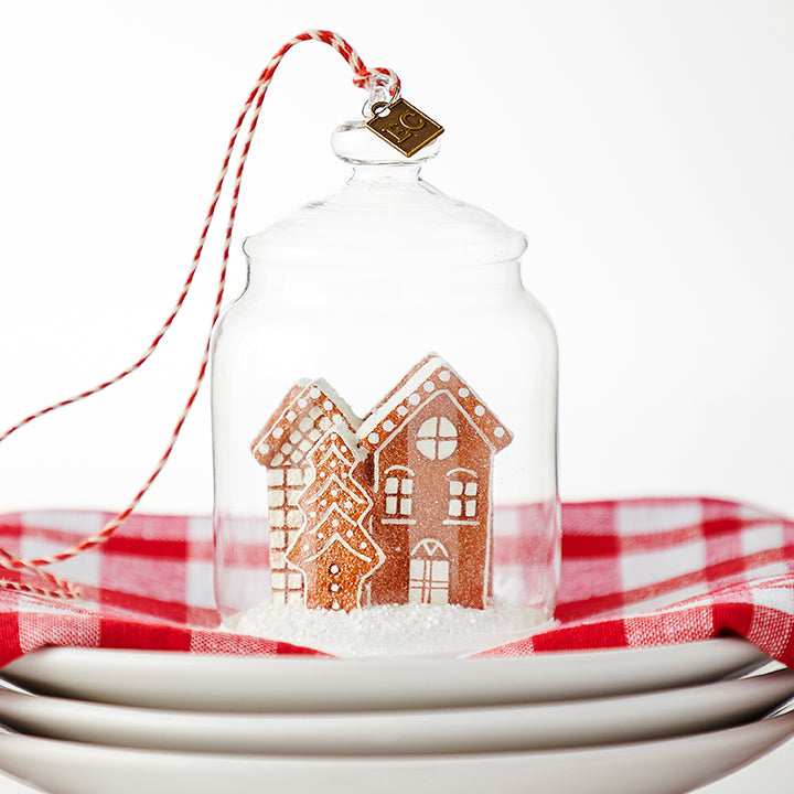Gingerbread Cookie Jar Ornament