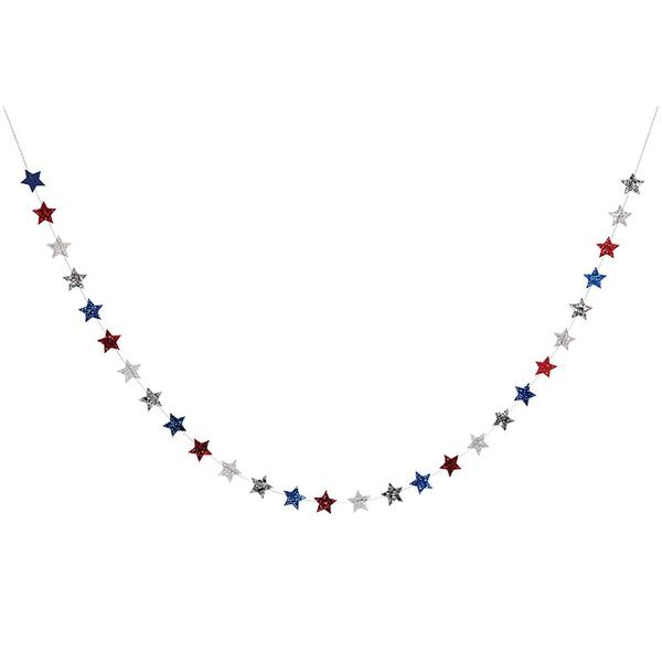 4th of July Star Mini Garland
