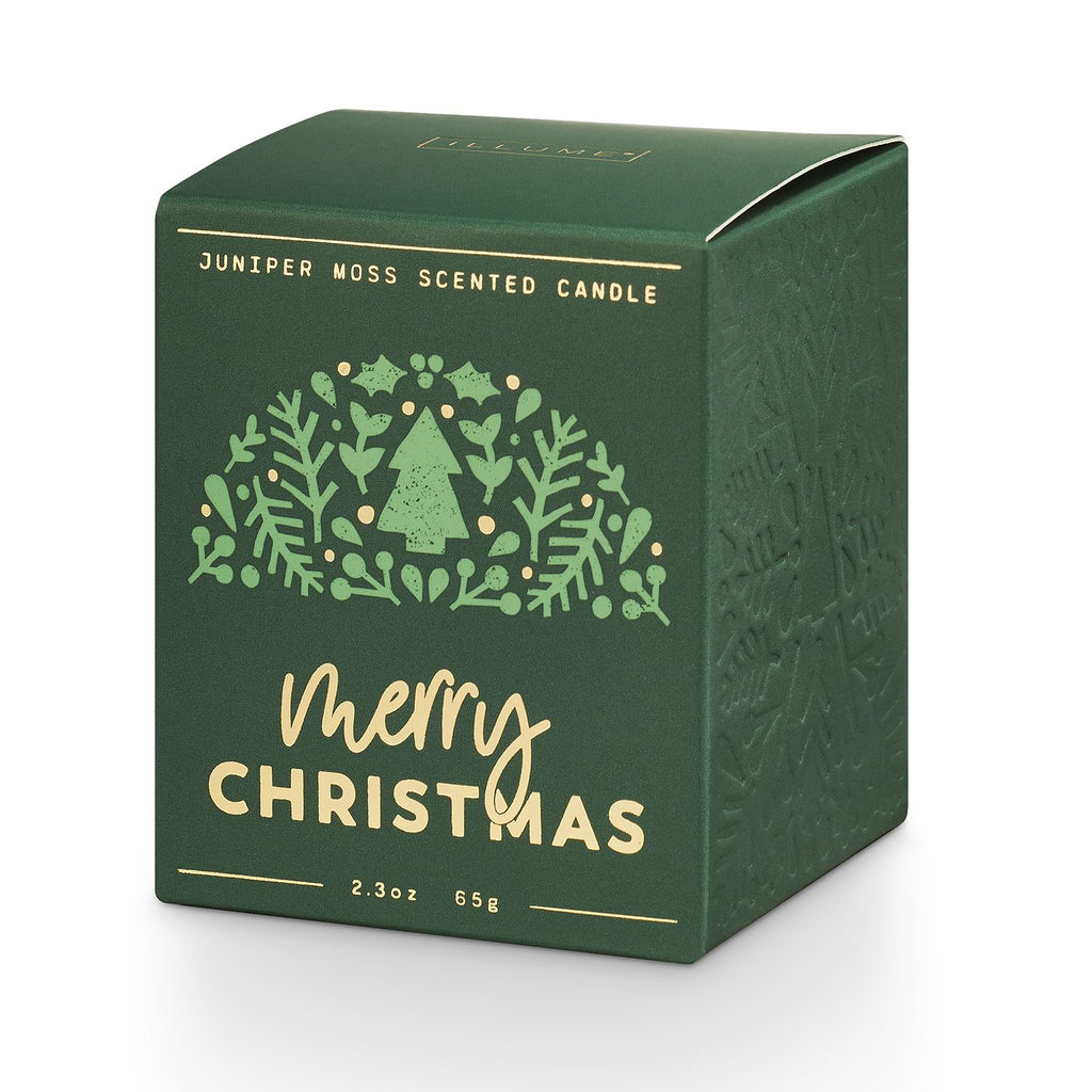 Good Cheer Boxed Votive Green