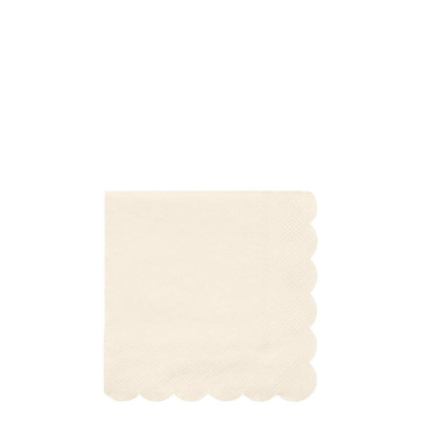 Cream Eco Small Napkins