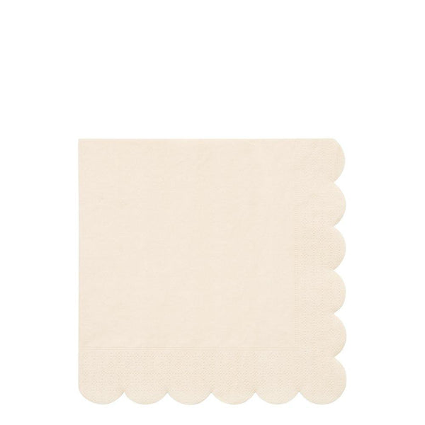 Cream Eco Large Napkins