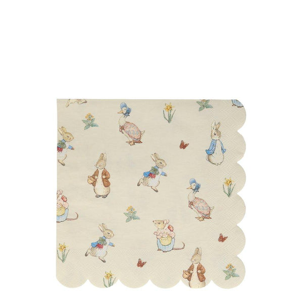 Peter Rabbit Large Napkins