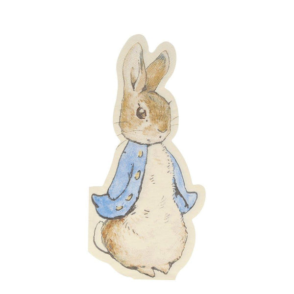 Peter Rabbit Shaped Napkins