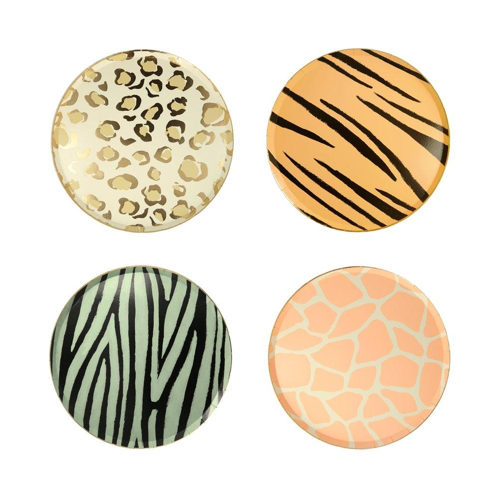 Safari Print Side Plates
