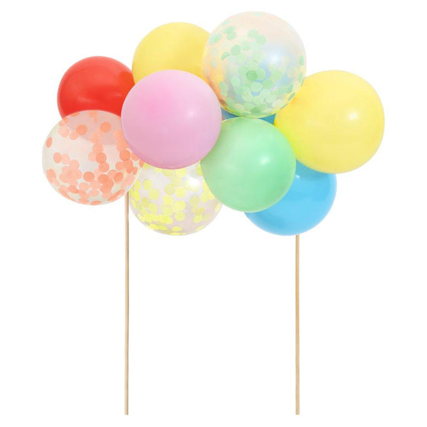 Rainbow Balloon Cake Topper Kit
