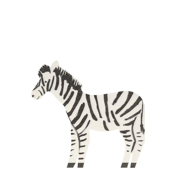 Safari Zebra Napkins