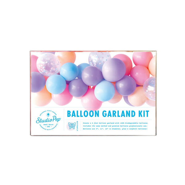 Butterfly Balloon Garland Kit