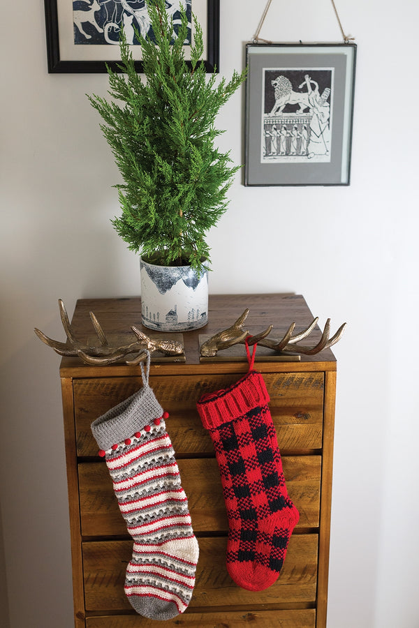 Antler Stocking Holder Set