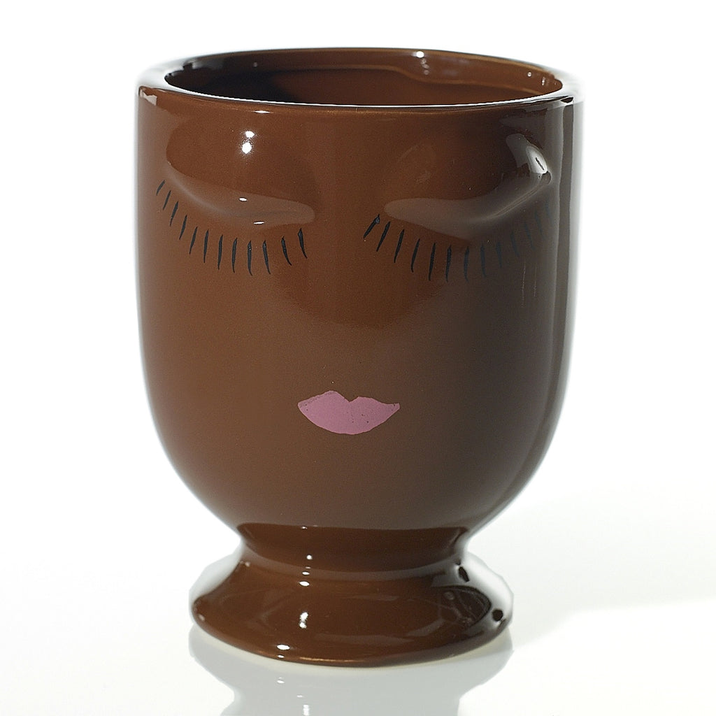 Celfie Vase Chocolate - Small