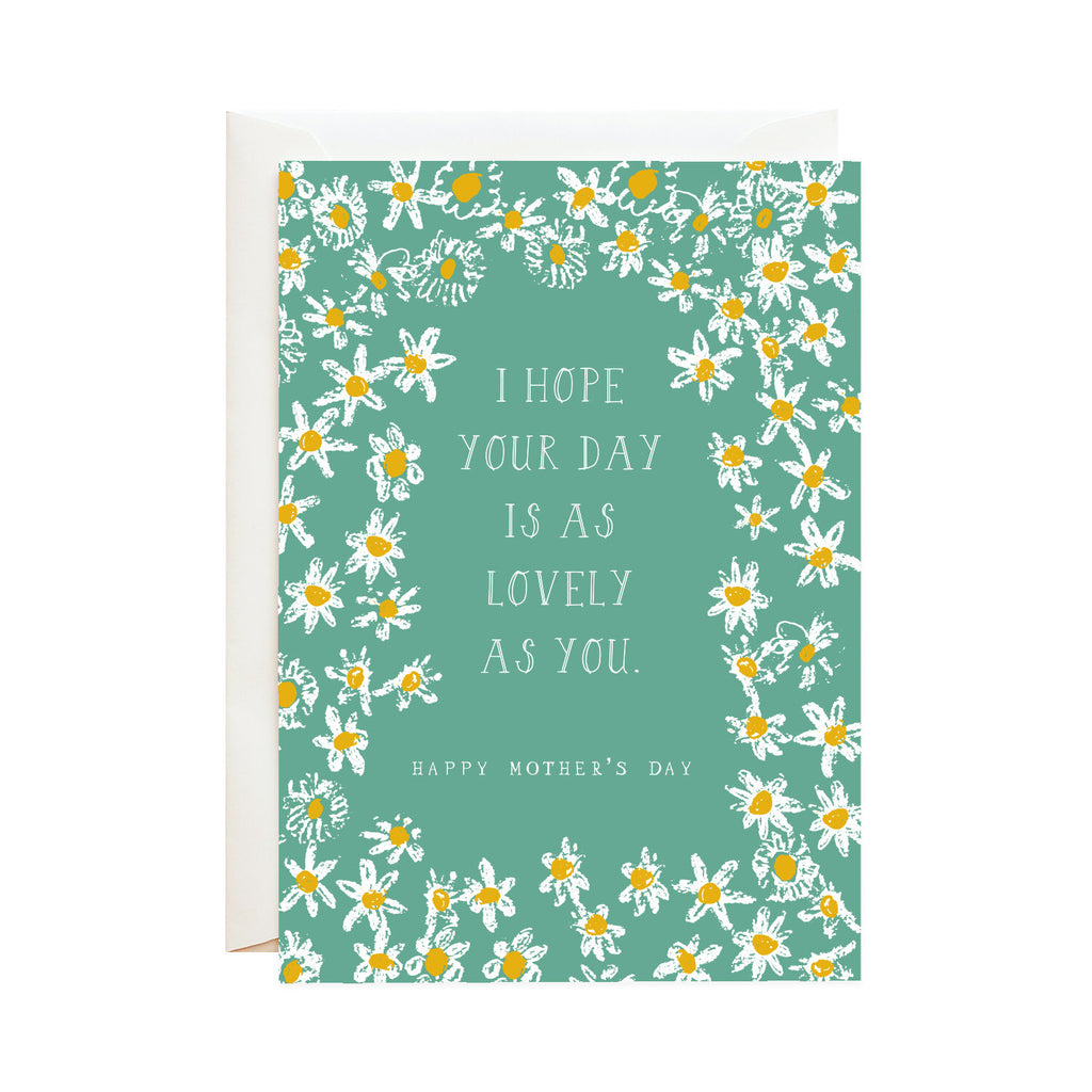 All These Daisies For Mom Card