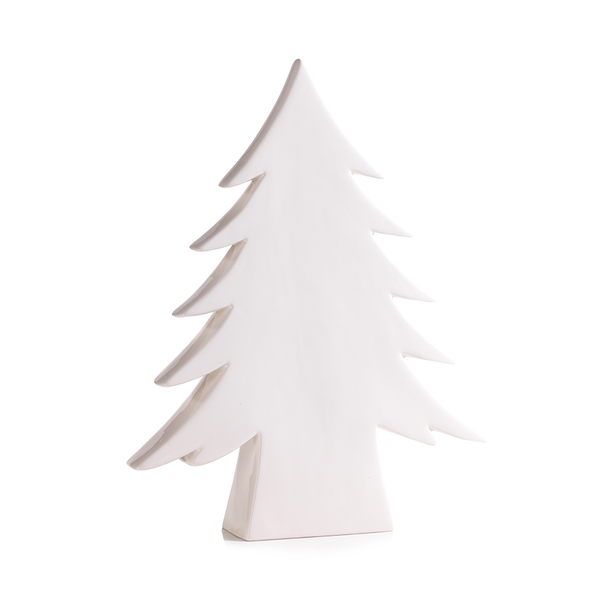 Teton White Ceramic Tree