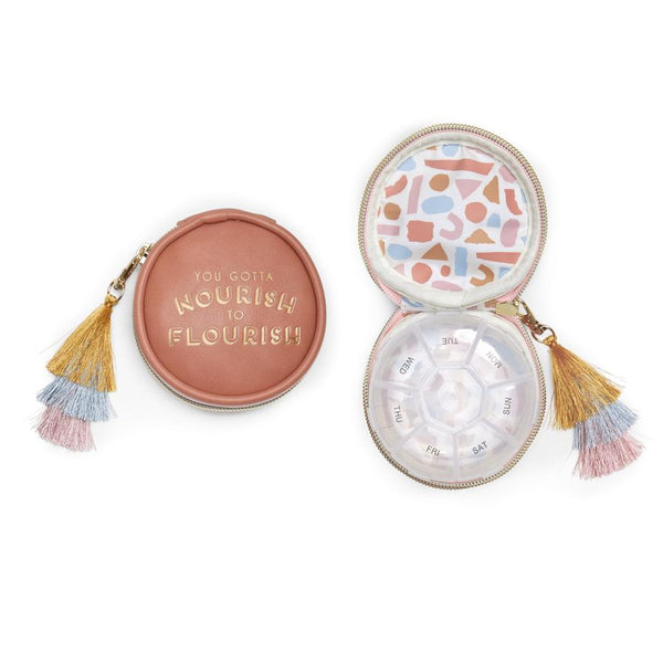Nourish to Flourish Pill Box