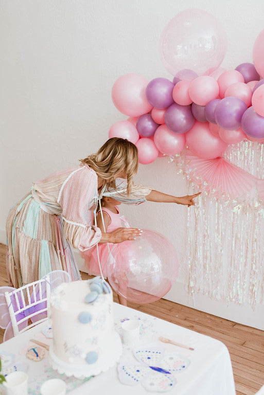 Light Pink Crystal Clearz Bubble Balloon