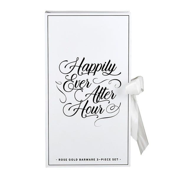 Happily Ever After Hour Barware
