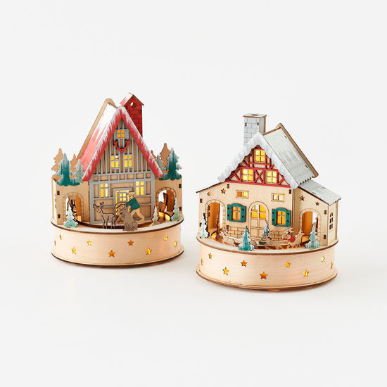 Scandinavian Lodge Music Box