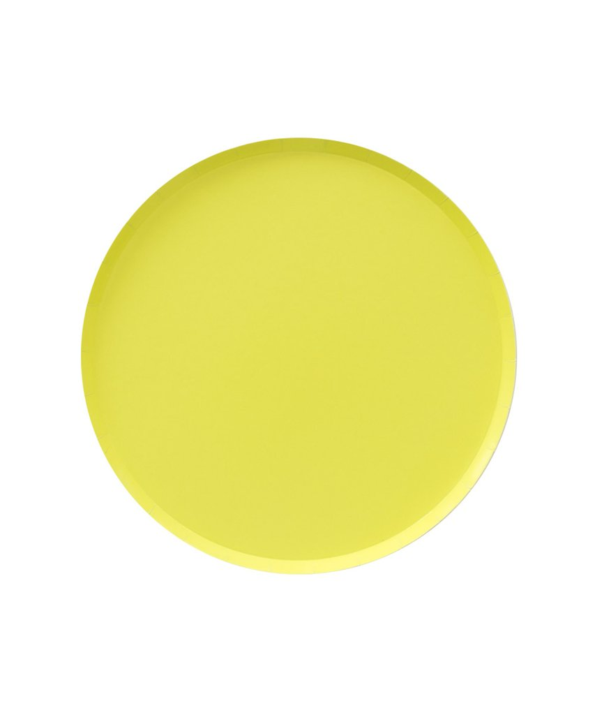Chartreuse 7in Plates