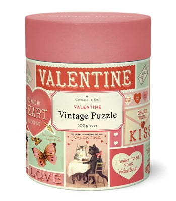 COMING SOON! Valentine 500 Piece Puzzle