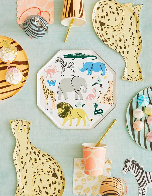 Safari Print Party Cups