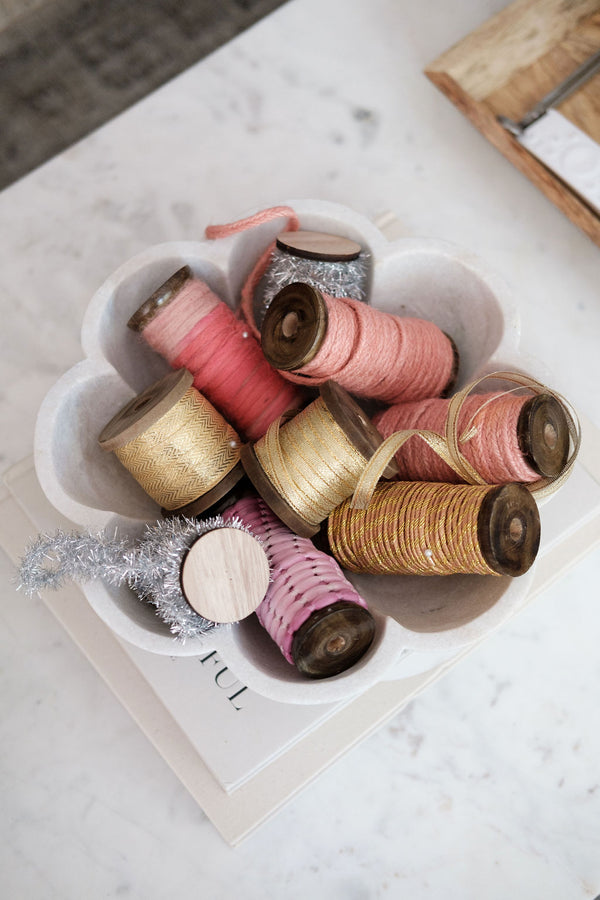 10 yards Ribbon - Short Spool Gold Metallics