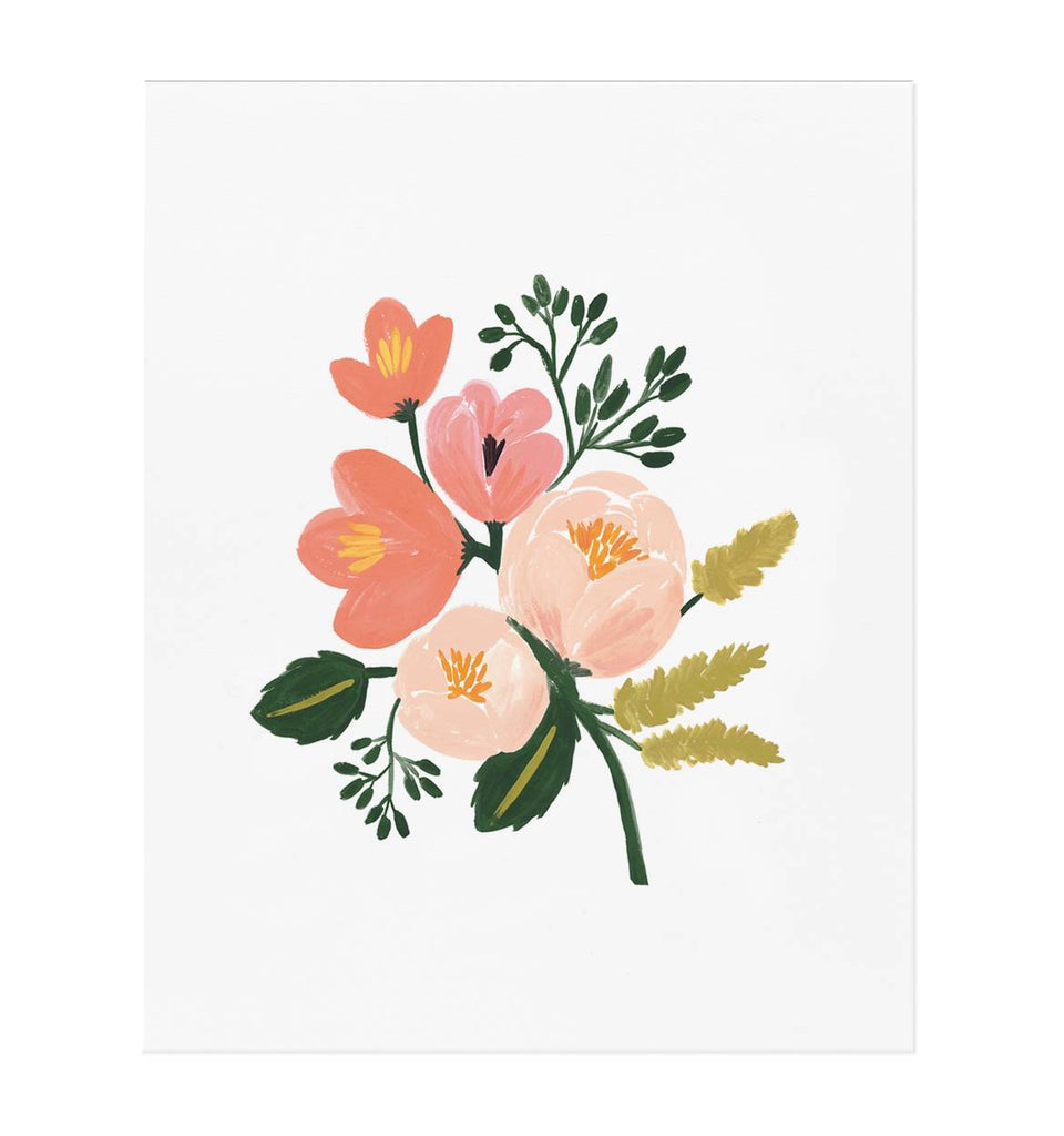 Rose Botanical Print